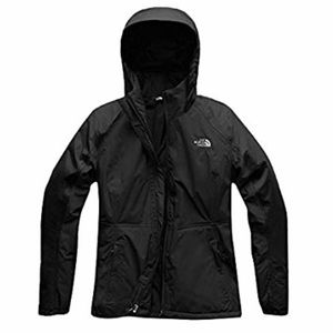 Insulated rain and snow jacket